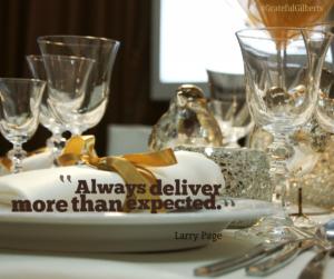 Always Deliver.