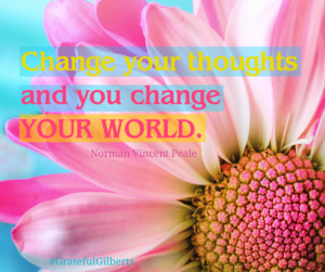 Think POSITIVE thoughts!