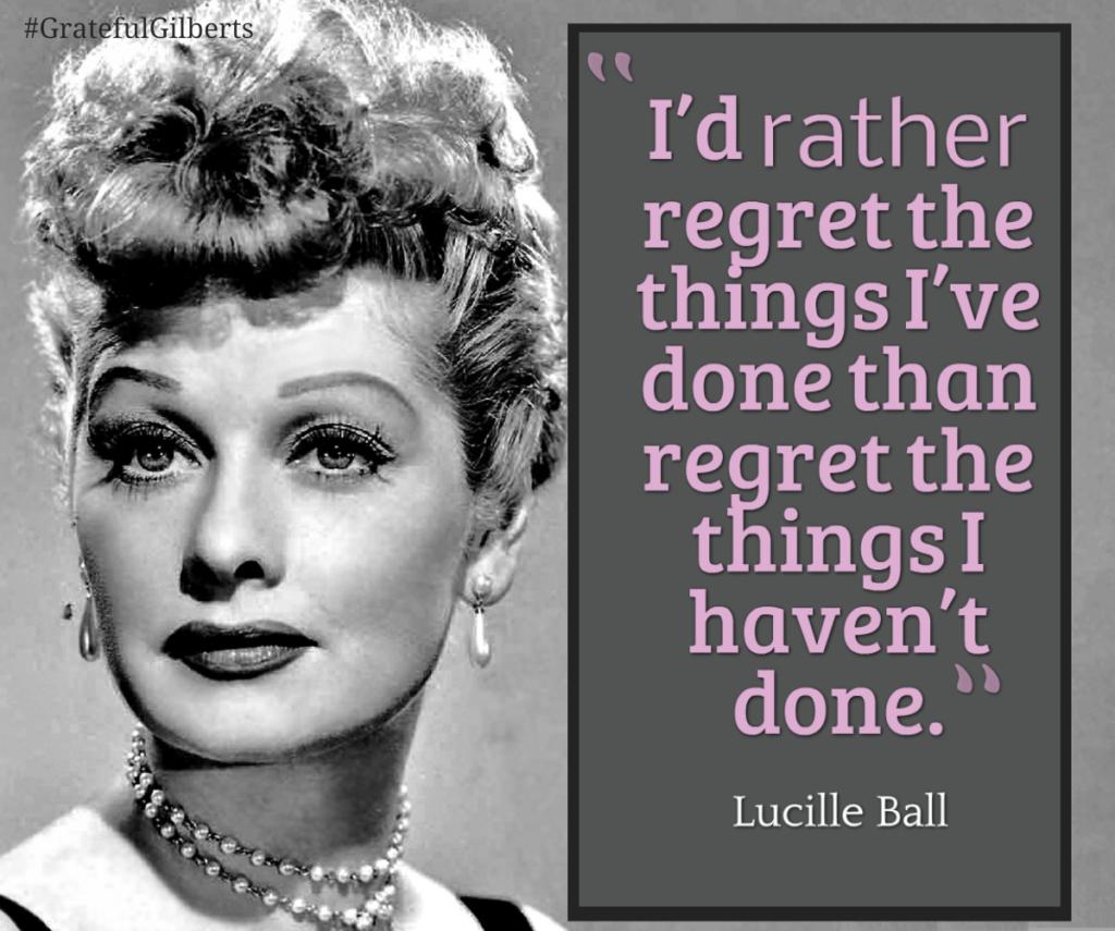 No Regret!